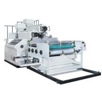 China PE Stretch Wrapping Plastic Film Extrusion Machine Two Layers Width 1000mm on sale
