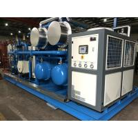 Quality Skid Mounted Hydrocarbon Recovery Unit , Refrigerant Recovery Machine Simple Installation wholesale