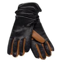 Quality Black Leather Gloves (NF10-M24) wholesale