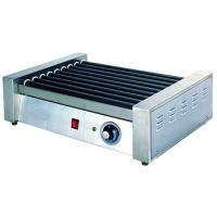 China Hotel Stainless Steel Commercial Hot-Dog Grill Machine 9-Roller For Fast Food on sale