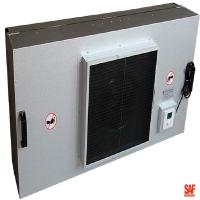 Quality Painted Steel Industrial Fan Filter Unit Outer Size 1220*610*390mm Longer Using Life wholesale