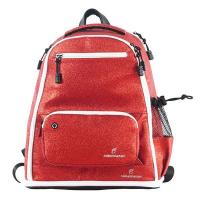 Quality 2020 Red Fashion Womens Sports Backpack , Glitter Cheer Backpack Soft Handle wholesale