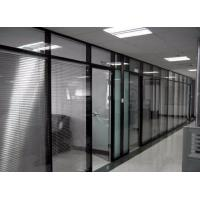 China Fire Retardant Aluminum Frame Sliding Glass Doors Heat Insulation Easy Movement on sale