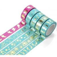Quality Washi Paper Scotch Tape Label Car Painting And Decorative Assorted Decorative School wholesale