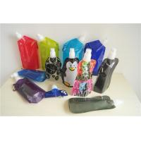 China Reusable Plastic Food Spout Pouch / Drinking Water Plastic Liquid Pouch Packaging on sale