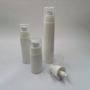 China pp twist up aluminum serum gold10ml 15ml 30ml 50ml 60ml 100ml 150ml round sprayer airless pump bottle cosmetic packaging on sale