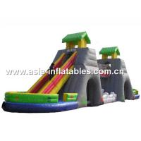 China Giant Inflatable Dry Slide For Children Soft Play Games In Fairground on sale