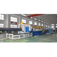 Cheap HDPE/PP Double Wall Corrugated Pipe Production Line , Corrugated Pipe Production Equipment for sale