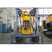 Quality Yellow Spindle Crawler Core Drilling Rig , Drilling Diameter 75 - 800mm wholesale