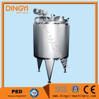 Quality 50-25000L Jacketed Stainless Steel Mixing Vessels Touch Screen Control With Heating wholesale