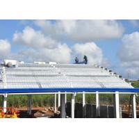 Buy cheap Cyclone resistance steel party centre building in Trianon of Mauritius from wholesalers