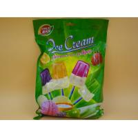 Quality Small Yogurt Covered Ice Cream Lollipop / Hard Candies With Multi Fruit Flavor wholesale