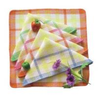 Quality Absorbent non-terry kitchen cleaning tea towel sets wholesale