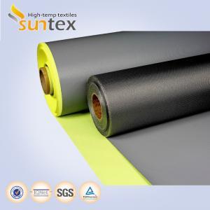 China Black Anti-static Ptfe Coated Fiberglass Fabric on sale