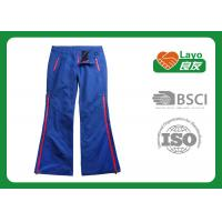 Quality Blue Color Ladies Hunting Pants, Soft Hunting Waterproof Trousers wholesale