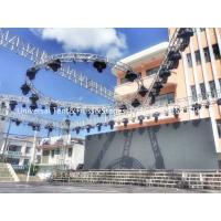 China Mini Aluminium Lighting Truss Stand Pipe Outdoor Stage Box Roof Circle Truss Alu Cable Milos on sale