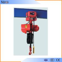 Quality Wire Electric Chain Hoist / Rope Electric Chain Block With Motor Drive wholesale
