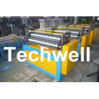 Quality 11KW Motor Power / PLC Control Three Roller Bending Machine To Curve Corrugated Sheets wholesale
