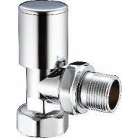 Quality Angle Brass Radiator Valves Chrome Lockshield (DZR-05) wholesale