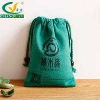 China 2015 High Fashionable Rope Handle Colored Canvas Drawstring Pouch on sale