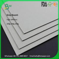 China Good quality 0.45mm to 4mm grey board paper for bible book cover on sale