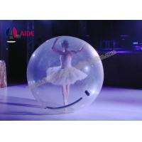 Cheap Water Bubble Ball Inflatable Ball Game 7 Foot Clear Mini Zorb Ball OEM for sale