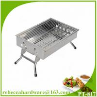 China Foldable Quality Easy Assembled Stainless Steel Outdoor Charcoal Grill on sale