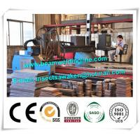 Buy cheap H Beam Production Line CNC Plasma Cutting Machine With HPR Plasma / EDGE Controller product