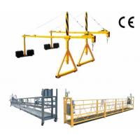 Cheap 800 Rated load Personalized Rope Steel Suspended Platform with Dipping Zinc for sale