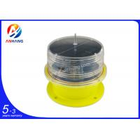 Quality AH-LS/L Solar powered LED aviation light/Solar obstruction light/obstacle light/Red flash aircraft warning light wholesale