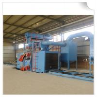 Quality H beam shot blasting machine / wheel blasting machine for cleaning structural steel wholesale