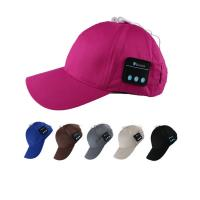 Quality New Design Bluetooth Music Cap , Fashion Music Baseball Hats With Earphones wholesale