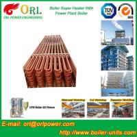 Quality Convection Platen CFB Boiler Superheater In Thermal Power Plant wholesale