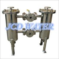 Quality 32 Inch Big Commercial Bag Stainless Steel Filter Housing For Liquid wholesale