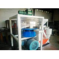 Quality Dust Free Plastic Scrap Cutting Machine 410mm Motor With Wind Conveying wholesale