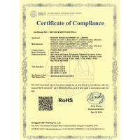 GuangZhou Master Sound Equipment Co., Limited Certifications
