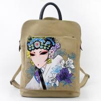 Quality Traditional Chinese Painting Fabric Backpacks for Women Wholesale wholesale