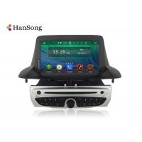 Quality Megane3  Renault DVD Player Full Touch 4G RAM G+G touch panel , Android Car Stero wholesale