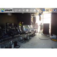 Cheap 18 Persons 5D Movie Theater With Special Effect System 3DOF Pneumatic Motion Chairs for sale