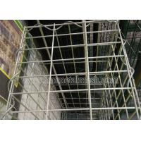Quality Galvanized gabion basket for stone cage application for retaining wall wholesale