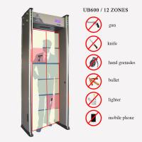 Quality LCD Display Count Door Frame Metal Detector 100 Level Sensitivity For Safety Checking wholesale