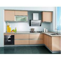 Buy cheap Wood grain MFC kitchen cabinet from wholesalers