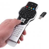 Quality 2.4G RF remote control for Windows media center with wireless keyboard + jogball mouse + IR learning wholesale