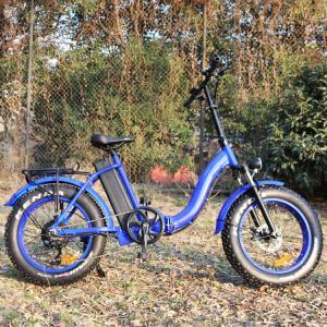 Quality Blue Color Beach Electric Bike , Women
