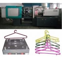 China LCD Control Electric Injection Moulding Machine For Plastic Cloth Hanger / Cloth Peg on sale