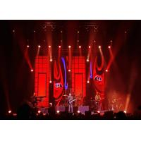 China High Definition LED Stage Backdrop Screen , P3.91 Indoor Full Color LED Display for sale