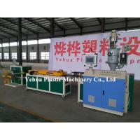 Buy cheap Hot sale eva pa pvc pp pe plastic single wall corrugated hose/pipe machine extrusion line production for sale from wholesalers