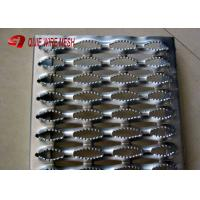 Quality Stainless 2MM Galvanized Steel Grating 240 * 4020MM / Anti Slip Tread Plates wholesale