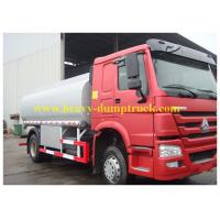 Quality 25 cbm 25000 liters7000 gallons petroleum tank trucks With Air Condition Cabin red color for choice wholesale