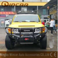 Cheap All Year Aluminum Material Front Bumper Bullbar For FJ Cruiser for sale